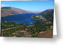 Columbia River Gorge Greeting Card