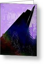 Columbia Tower Cubed 4 Greeting Card