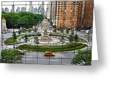 Columbus Circle Greeting Card