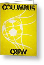 Columbus Crew Goal Greeting Card