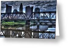 Columbus Ohio Downtown IIi Greeting Card