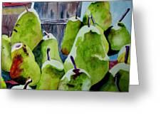 Columbus Pears Greeting Card