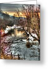 Colville River Greeting Card