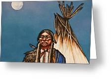 Comanche Moon Greeting Card