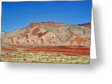 Comb Ridge Utah Near Mexican Hat Greeting Card by Christine Till