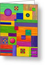Combination Greeting Card by David K Small
