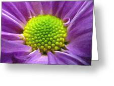 Come Closer - Digital Painting Effect Greeting Card