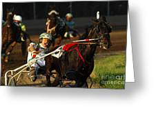 Horse Racing Come On Number 6 Greeting Card