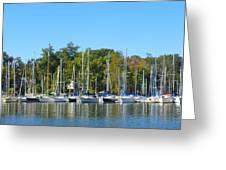 Come Sail Away Greeting Card