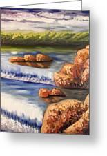 Comfort Waterfall Greeting Card