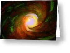 Comic Spiral Greeting Card