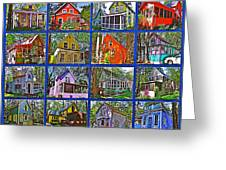 Coming Home Photo Assemblage In Asbury Grove In South Hamilton-massachusetts Greeting Card