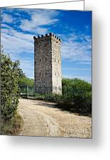 Commanche Park Tower Greeting Card