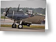 Commemorative Air Force - Douglas Sbd Dauntless Greeting Card