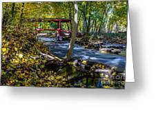 Commerce Twp. Mill Race Park Greeting Card