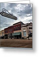Commercial St Greeting Card