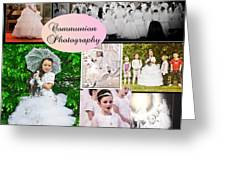 Communion Photography Greeting Card