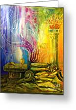 Communion Table Greeting Card