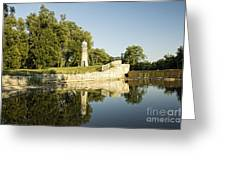 Como Lake Park Greeting Card