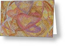 Compassion 7 Hearts Greeting Card