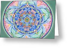 Compassion Mandala Greeting Card