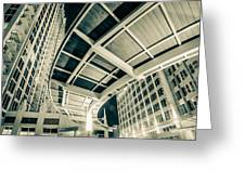 Complex Architecture Greeting Card