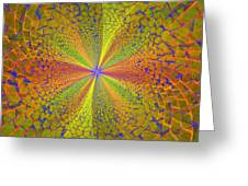 Computer Generated Fractal Art Greeting Card