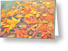 Computer Generated Image Of Autumn Greeting Card