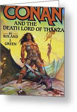 Conan And The Death Lord Of Thanza 1997 Greeting Card