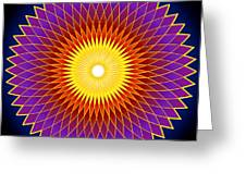 Concentration Design Greeting Card