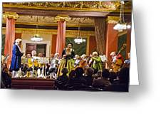 Concert In Vienna Greeting Card