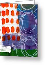 Concerto One - Abstract Art Greeting Card