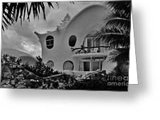 Conch Casa Greeting Card