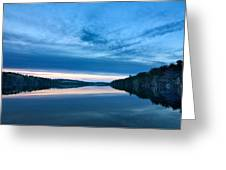 Concord Blue Hour Reflections Greeting Card