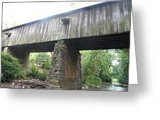 Concord Covered Bridge Greeting Card