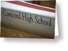 Concord High School Greeting Card