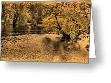 Concord River At Old North Bridge Greeting Card