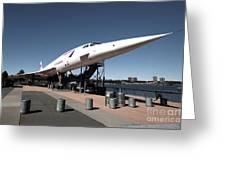 Concorde Greeting Card