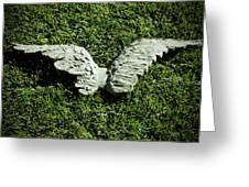 Concrete Angel Greeting Card