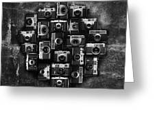 Concrete Camera Greeting Card by Tord-Erik Andresen
