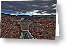 Concrete Canyon Greeting Card