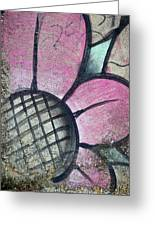 Concrete Flowers Greeting Card