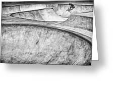Concrete Slider Greeting Card