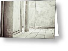 Concrete Space Greeting Card