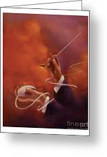 Conductor Greeting Card