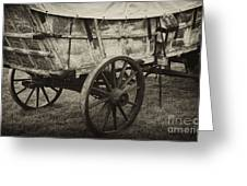 Conestoga Wagon Greeting Card