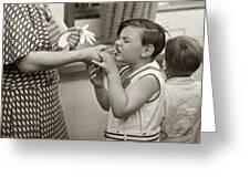 Coney Island, 1938 Greeting Card