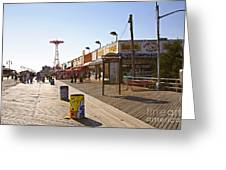 Coney Island Memories 8 Greeting Card
