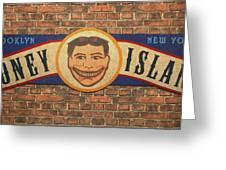 Coney Island Sign Greeting Card