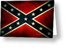 Confederate Flag 4 Greeting Card